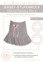 Lillesol Basics No.3 Jerseyrock Schnittmuster