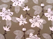 RESTSTÜCK 46 cm Lillestoff Bio-Jersey Miss Cherry Blossom