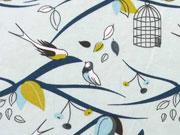 Lillestoff Bio-Jersey Swalwön, hellblau