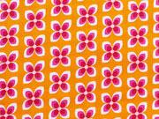 RESTSTÜCK 30cm Soft Cactus Little Daisy - pink auf orange