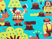 Lillestoff Bio-Jersey Lumberjack