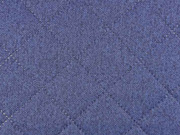 RESTSTÜCK 81 m Moskau gesteppter Taschenstoff- jeansblau
