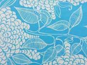 Robert Kaufman Mystic Canvas, Azure himmelblau