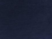 RESTSTÜCK 108 cm Nicky Velour uni - dunkelblau