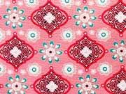 Ornaments Ornamente & Blumen,  lachs (rosa)