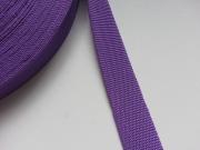 Gurtband 3 cm Polypropylen, lila