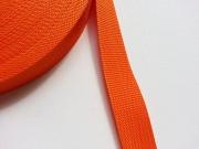 Gurtband 3 cm (Polypropylen), orange