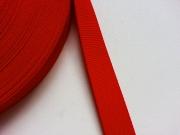 Gurtband 3 cm (Polypropylen), rot