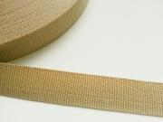 Gurtband 3 cm Polypropylen, beige