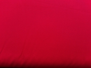 RESTSTÜCK 35 cm Baumwollstoff uni, rot