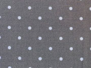 Kleine Punkte in hellblau auf dunkelgrau