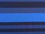 RESTSTÜCK 72 cm Punta di Roma Streifen versch. Blautöne