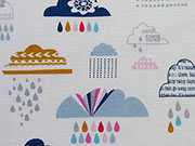 Dashwood Rain or Shine Wolken - bunt/weiss