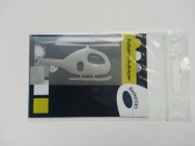 Reflektor-Aufbügler Hubschrauber,klein