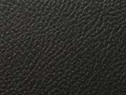 Rex Kunstleder geprägte Optik - schwarz