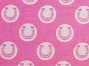 Riley Blake Derby Style Hufeisen-pink