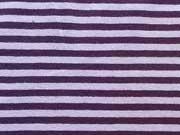 Jersey Streifen 2 mm, lila helllila