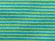 Ringeljersey 3 mm-türkis/limette