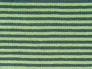 Ringeljersey 3 mm, hellgrün/dunkelgrün