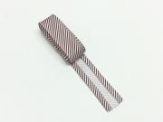2 m Schrägband gestreift, braun/weiss