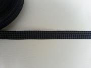 Staaars Farbenmix schwarz-grau, Webband