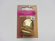 Steckschloss 32x37mm für Taschen, gold