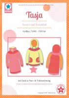 Tasja Hoodie und Kleid Papierschnittmuster