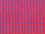 Baumwollstoff Vichy Karo, dunkelblau rot