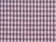 Vichy Karo, rosa-grau