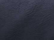 RESTSTÜCK 28 cm Vintage Lederimitat geprägte Optik,dunkelblau
