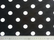 RESTSTÜCK 94 cm Viskose Jersey Streifen 1,3cm, schwarz weiß
