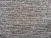 Weicher Glattstrick - dunkelbraun melange