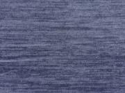 RESTSTÜCK 42 cm Weicher Glattstrick - jeansblau melange