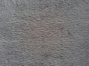 RESTSTÜCK 43 cm Wellnessfleece uni, mittelgrau