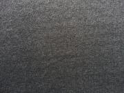 RESTSTÜCK 26 cm dicker Sweat angeraut, dunkelgrau melange