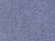 dicker Sweat angeraut, jeansblau melange