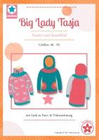 Big Lady Tasja Hoodie Kleid Papierschnittmuster