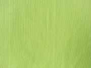 Bündchen, Feinripp - hellgrün (limette)