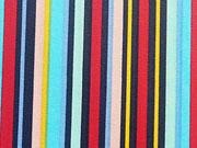 beschichtete BW Streifen-dunkelblau/bunt