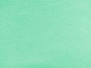 RESTSTÜCK 35 cm dicker Sweat angeraut, helles mint