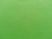 glattes Bündchen - Kiwi grün