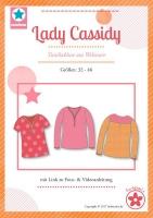 Lady Cassidy Damentunika Papierschnittmuster