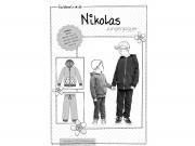 Schnittmuster Jungenjogger Nikolas Farbenmix