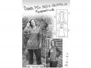 Schnittmuster Damen Mix Shirt Quiala Farbenmix