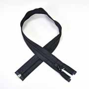 Reißverschluss teilbar 70 cm, schwarz